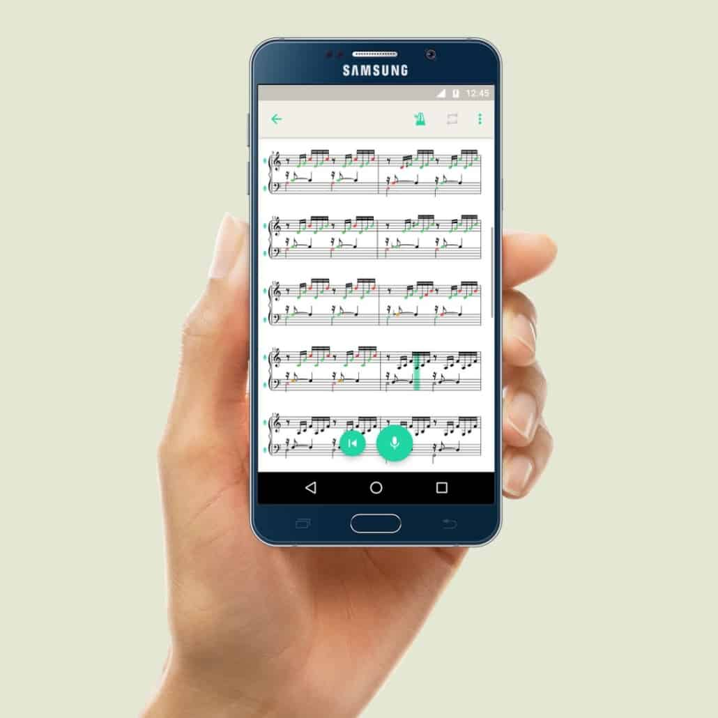 PhonicScore Android App Instant Pitch Monitoring