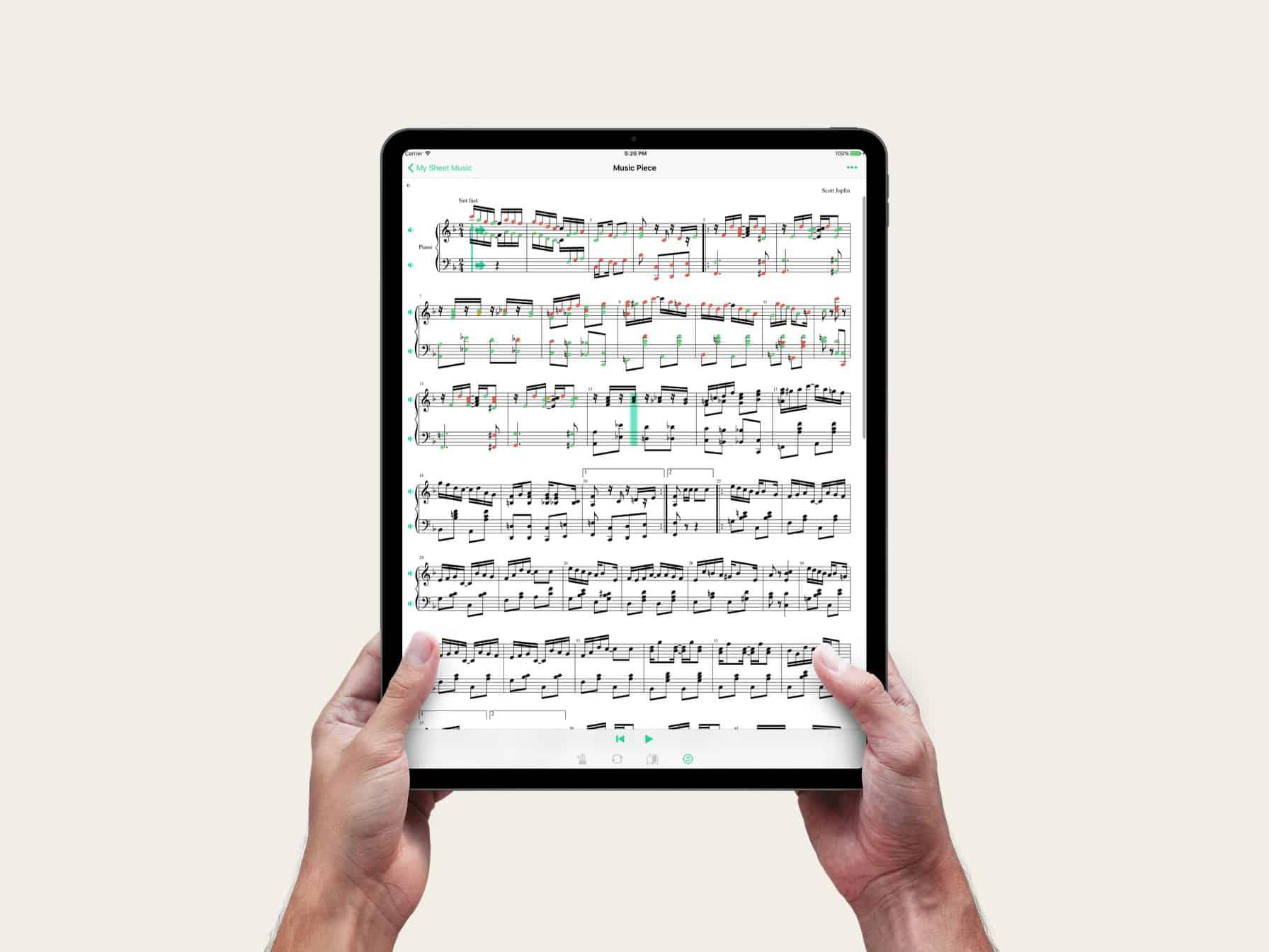 Practice Bird iOS App iPad Pro